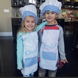 Other - Chef Hat & Apron Cook Costume